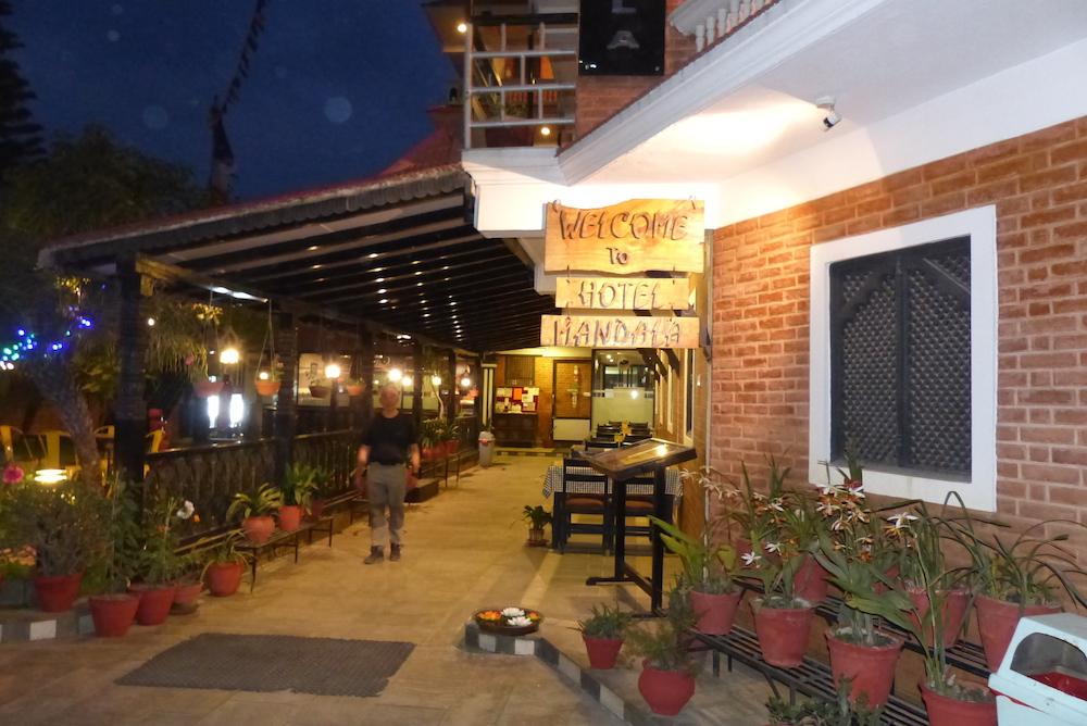Hotel mandala at boudha