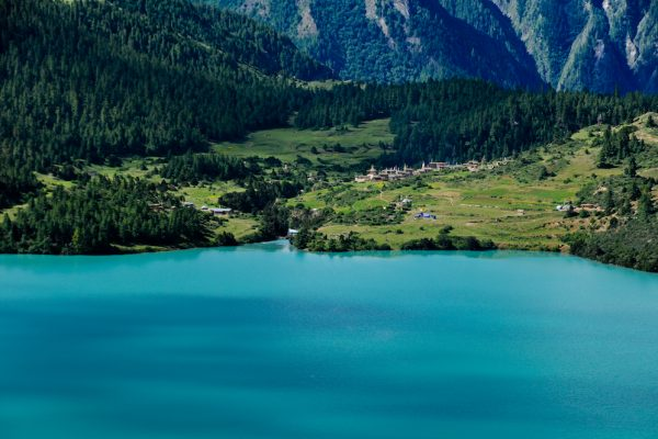 Phoksumdo lake in lower Dolpo, Nepal.
